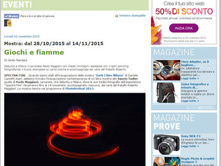 Le Fiammate di Spectra su FotoZona.it