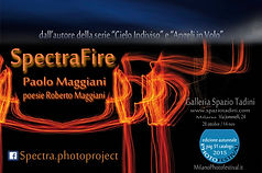 Spectra Fire Paolo Maggiani Roberto fotografia Spazio Tadini Milano