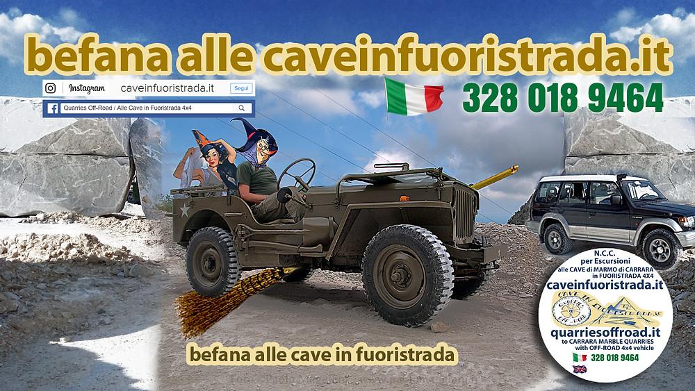 befana-in-jeep-alle-cave-di-marmo-di-carrara-in-fuoristrada