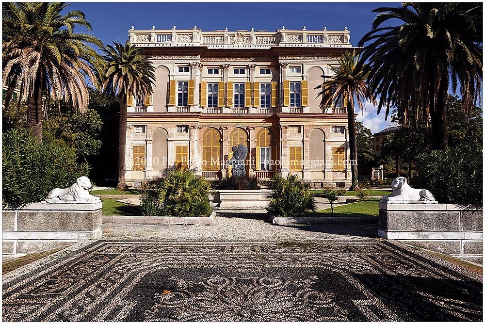 Villa delle Peschiere Genova foto ©Paolo Maggiani