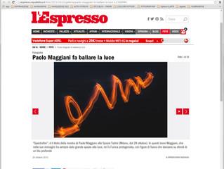 Su L'Espresso una SpectraFire GaLLery!