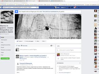 """Connettiti alla pagina FaceBook di """"Marmo in Guerra"""""""