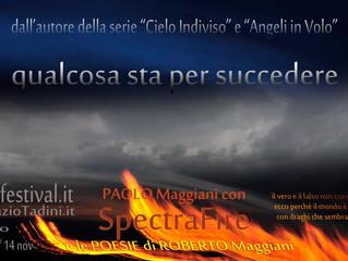 """""""Spectra fire"""" di Paolo Maggiani"""