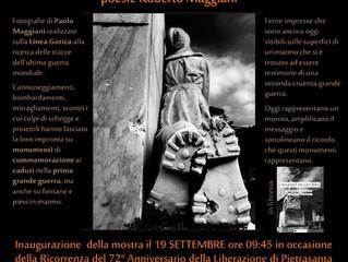 """Arte: """"Marmo in guerra"""", a Pietrasanta la mostra evento  di Paolo e Roberto Maggiani"""