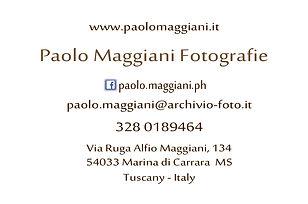 Paolo Maggiani Fotografie Carrara Tuscany Italy