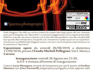 """SpectraFire"" a Carrara Parkour Estate 2016"