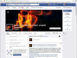 Connettiti alla pagina FaceBook di SpectraFire