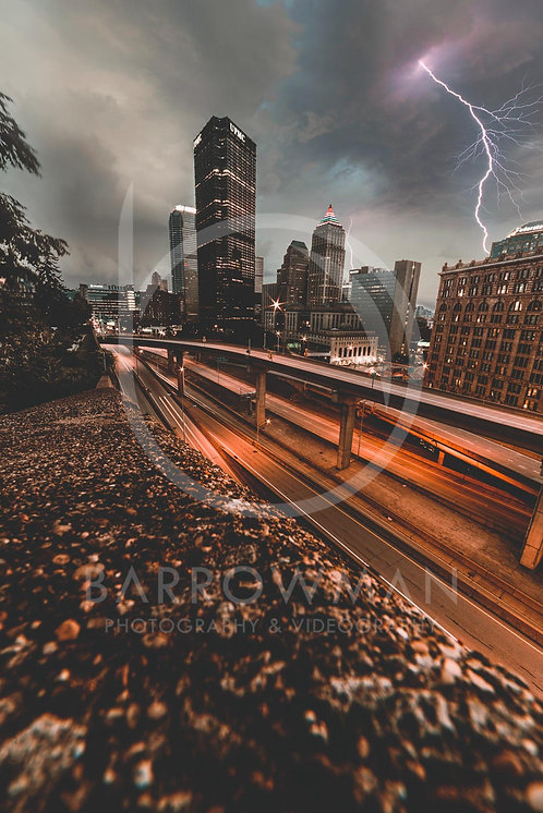 Stormy Pittsburgh