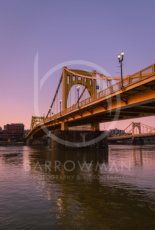 Andy Warhol Bridge Sunset