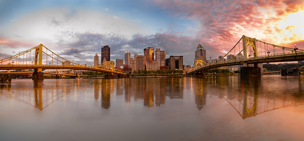 Custom Prints Pittsburgh | Pittsburgh Skyline