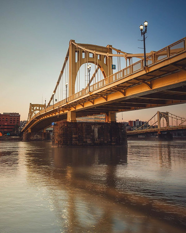 Custom Prints Pittsburgh | Andy Warhol Bridge
