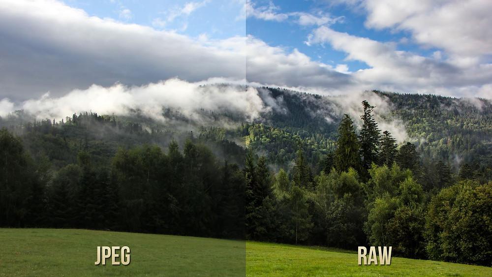 JPEG vs. RAW