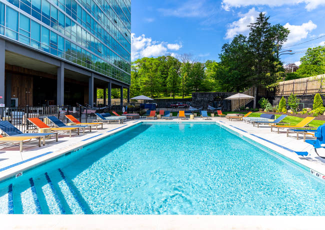 Highland House Tower Community Pool By Barrowman Photography