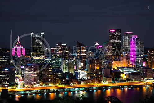 Mount Washington, Pittsburgh (Breast Cancer Awareness Addition)