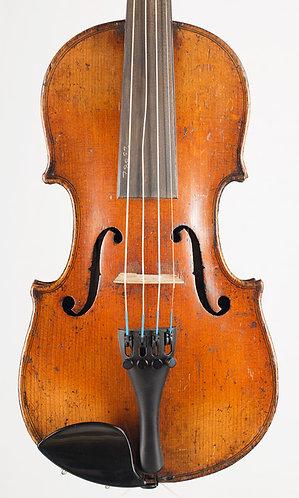 1/2 Violin of the Berlin/Saxon German School 19th century