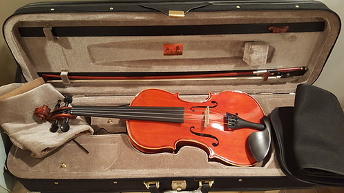 1/4 or 1/2 Fractional Premiere Violin Outfit