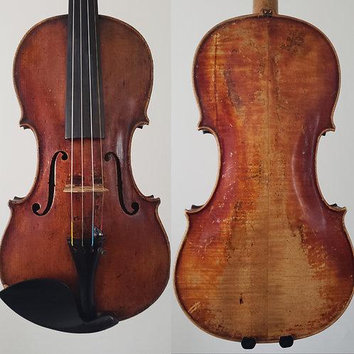 Violin of the Berlin School, Germany 19th Century Petite Guarneri Model