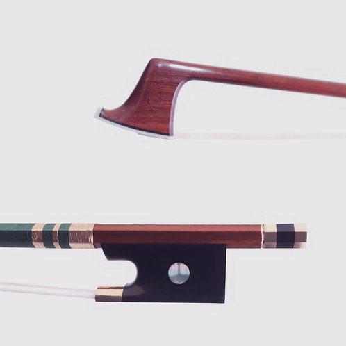 Pascal Camurat Gold Mounted Violin Bow, FX Tourte Copy, Montpellier, France 2021