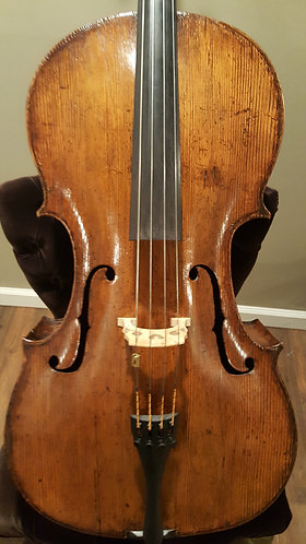 Late 17th c. English 7/8 cello