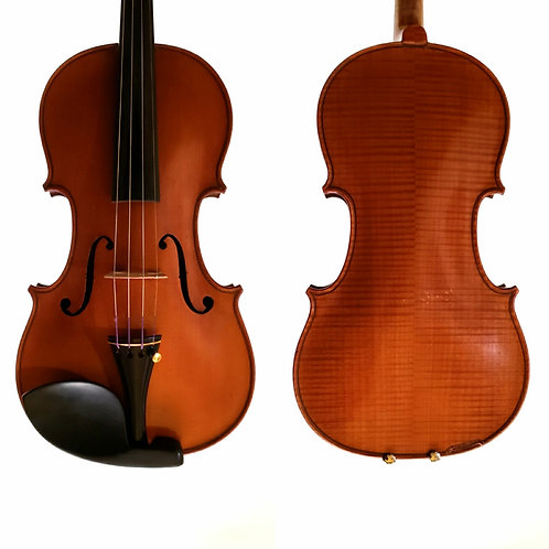 Violin made for Leon Bernardel in Paris, early 20th c Mirecourt Workshop, France