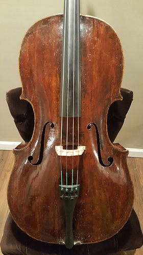 18th c. Tyrolean 7/8 Cello by Mayr