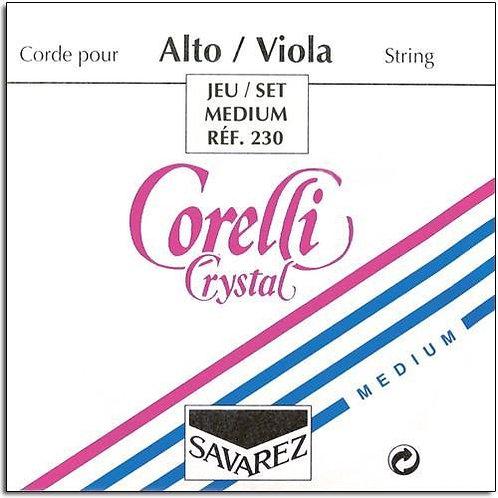 "Corelli Crystal Viola Set 15""-16"""