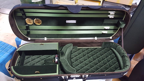 Bay Fine Strings Bespoke Lightweight Adjustable Viola Case