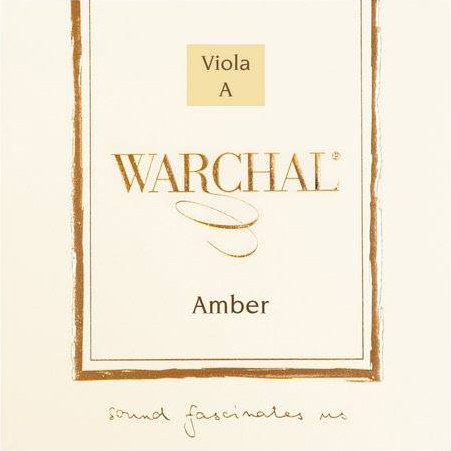 Warchal Amber Viola Set Steel A Ball