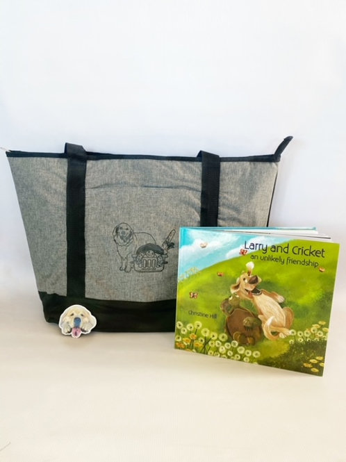 Larry and Cricket bag bundle