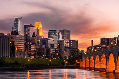 Minneapolis Minnesota Downtown and the S