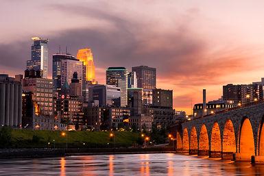Minneapolis Minnesota Downtown and the S