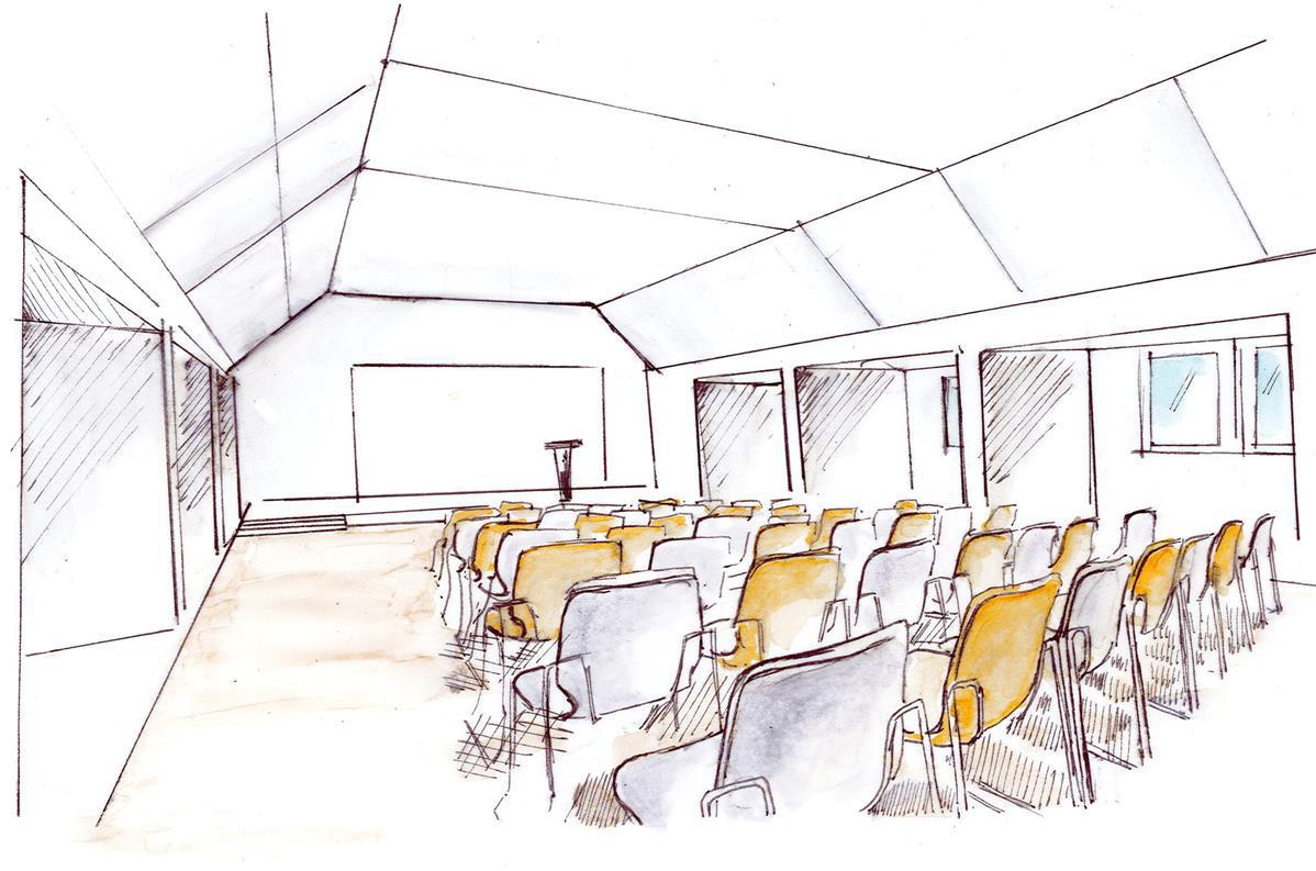 Dachgeschoss - Veranstaltungsraum