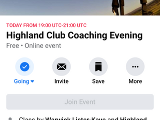 Highland Club coaching evening