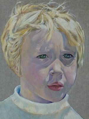 Portrait of Mila commission