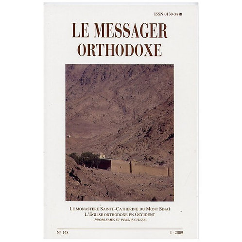 LE MESSAGER ORTHODOXE N° 148