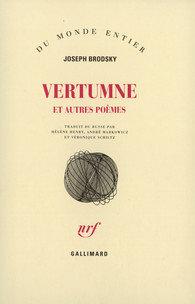 Vertumne et autres poèmes - Joseph Brodsky