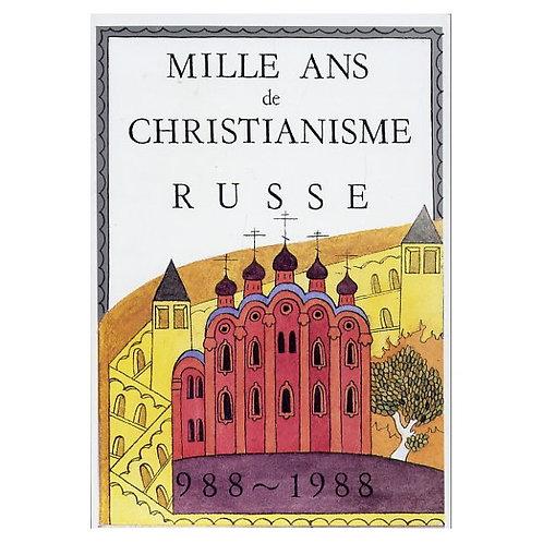 Mille ans de christianisme russe