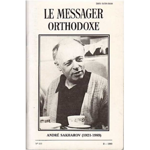 LE MESSAGER ORTHODOXE N° 111