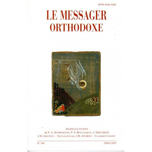 LE MESSAGER ORTHODOXE N° 144