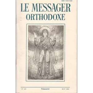LE MESSAGER ORTHODOXE N° 103