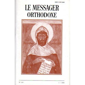 LE MESSAGER ORTHODOXE N° 113