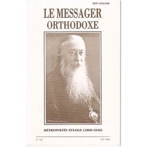 LE MESSAGER ORTHODOXE N° 127