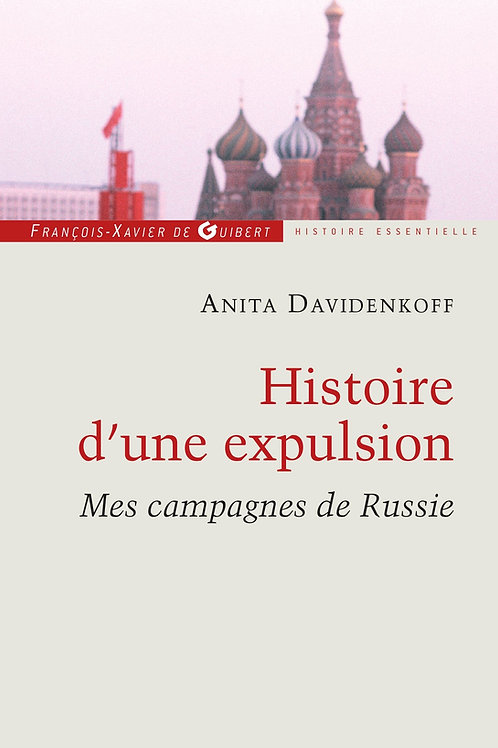Histoire d'une expulsion - Anita Davidenkoff