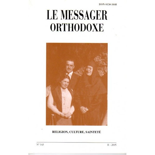 LE MESSAGER ORTHODOXE N° 143