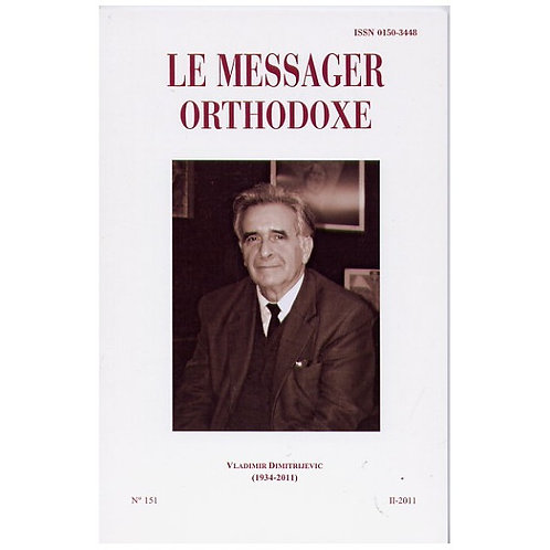 LE MESSAGER ORTHODOXE N° 151