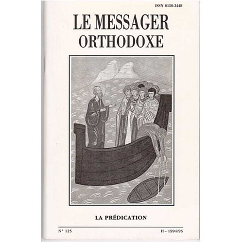 LE MESSAGER ORTHODOXE N° 125