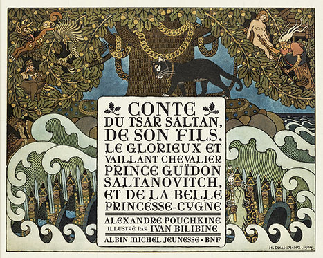 Conte du Tsar Saltan - Alexandre Pouchkine