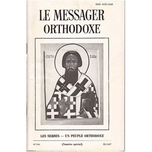 LE MESSAGER ORTHODOXE N° 106