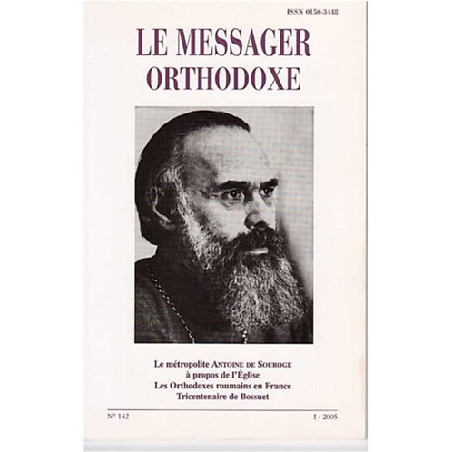 LE MESSAGER ORTHODOXE N° 142