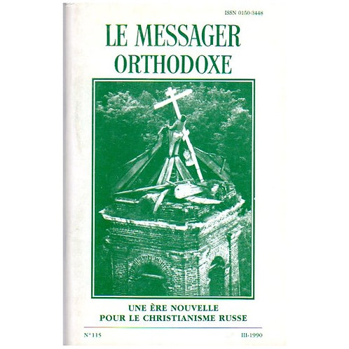 LE MESSAGER ORTHODOXE N° 115
